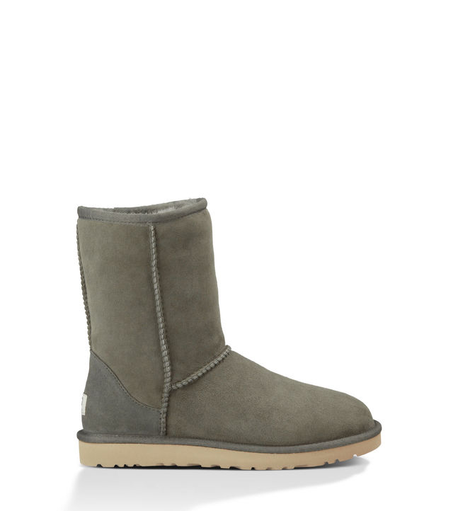 green ugg boots classic short