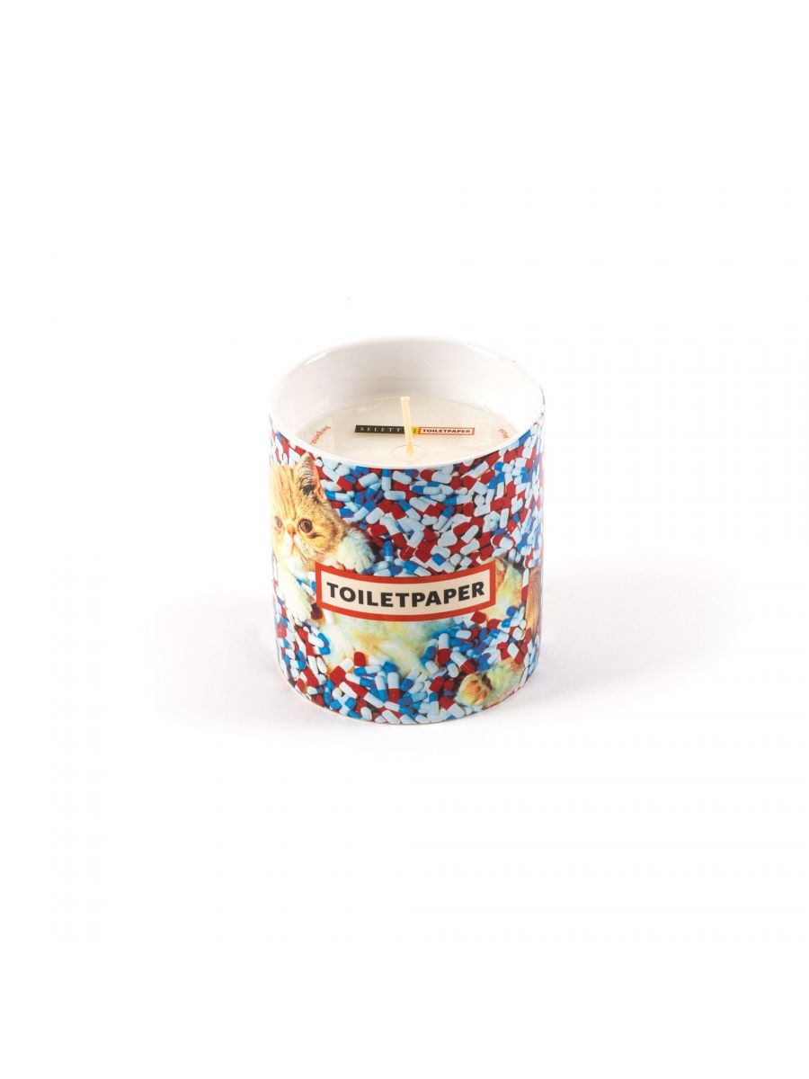 Seletti Candle Cat