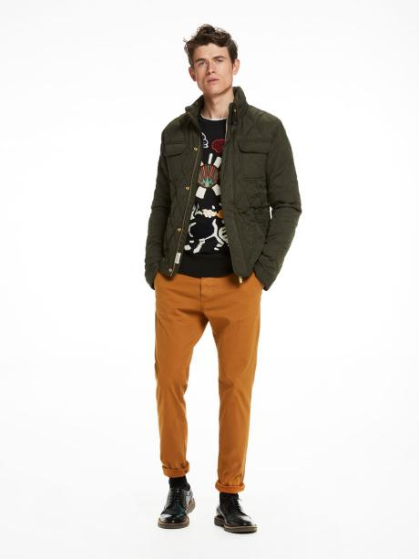 Scotch&Soda Stuart Chino Slim Fit Nutmeg