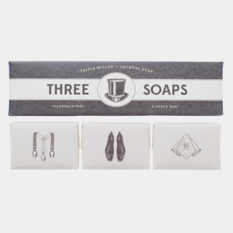 Trio of Soaps Gentleman