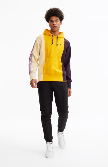 Champion Hand Painted Color Block Hoodie