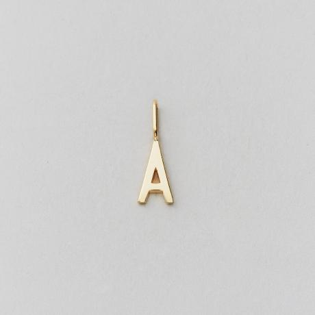 Archetype letter 10mm, A-Z (Gold)