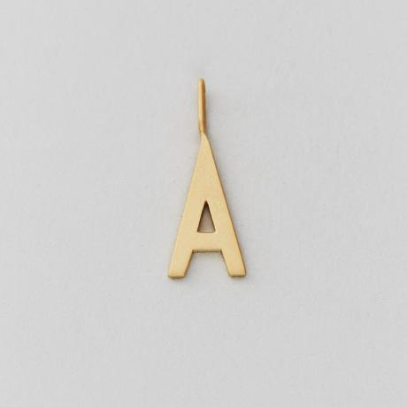 Archetype letter 16mm, A-Z (Gold)