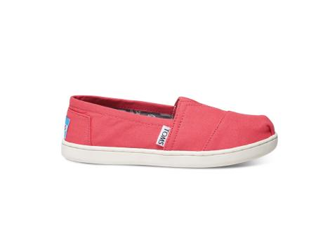 e16ff62fb35 Toms Alpargata Barberry Pink Canvas Youth Classics