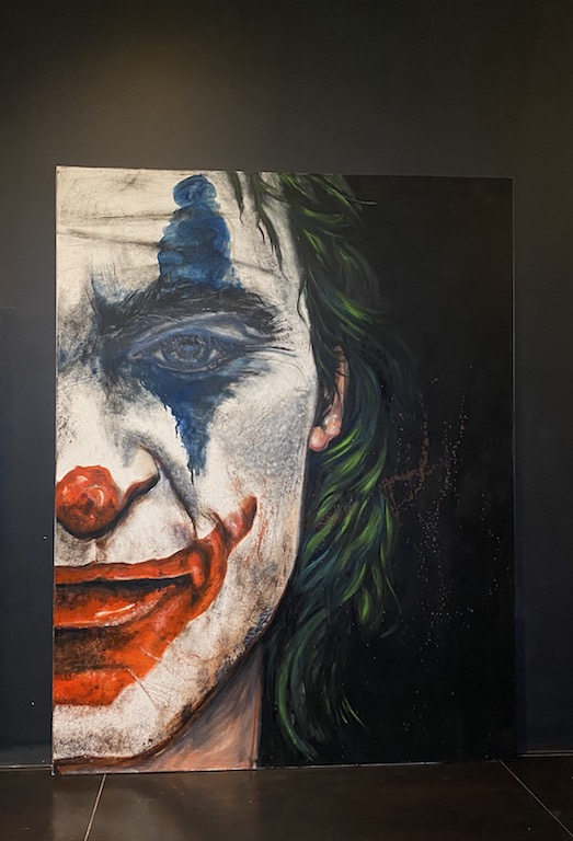 Modern Joker Art Painting