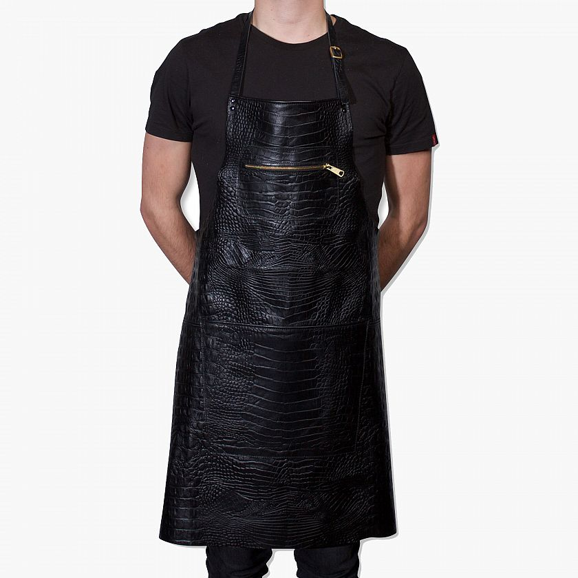 DutchDeLuxes Apron Zipper Croco